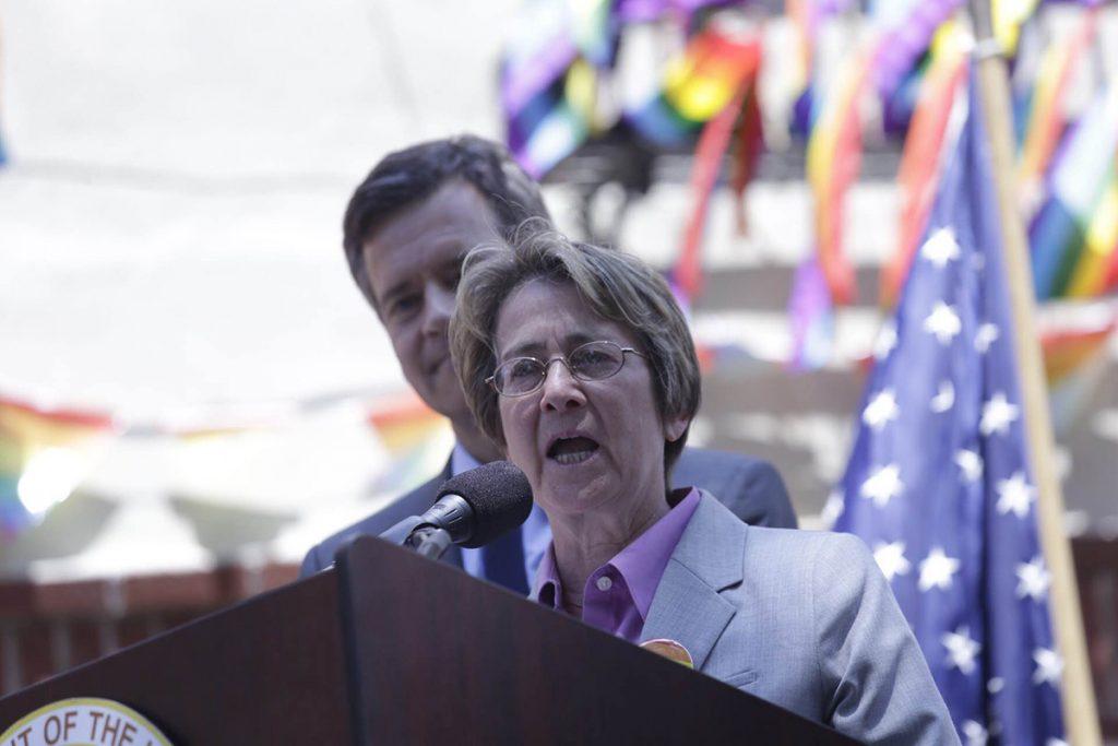 Speaking at Stonewall National Monument Dedication June 27 2016